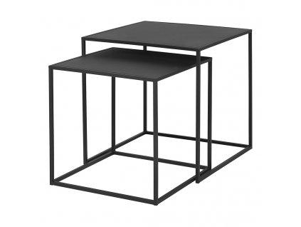 Set 2 ks konferenčních stolků FERA černý Blomus