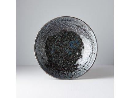 Velká mělká mísa Black Pearl 24 cm 1 l MIJ