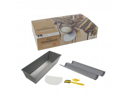 Sada na domácí pečení - chléb a pečivo de Buyer 4 ks