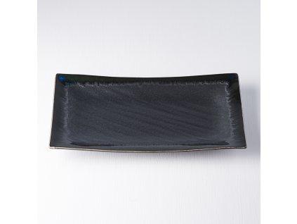 Velký obdélníkový talíř Matt 33 x 19 cm