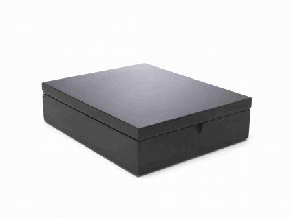 Krabička na čaj Bredemeijer 9 přihrádek černá