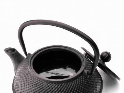 Litinová konvice na čaj Xilin Bredemeijer černá 800 ml