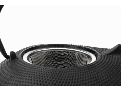 Litinová konvice na čaj Aladin Bredemeijer černá 1 l