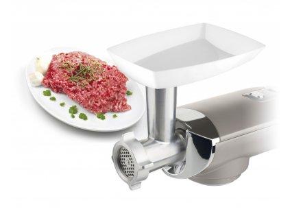 Mlýnek na maso ke kuchyňským robotům Eta stříbrný