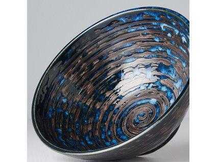 Udon mísa Copper Swirl 20 cm 900 ml