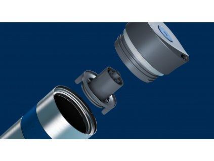 Vakuový termohrnek Koffje Boddels noční modrý 370 ml