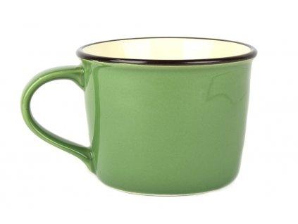 Široký hrnek COLOURBLOCK 200 ml zelený MIJ