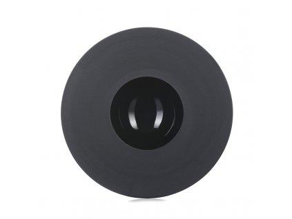 Hluboký talíř Sphère Revol černý 21,5 cm