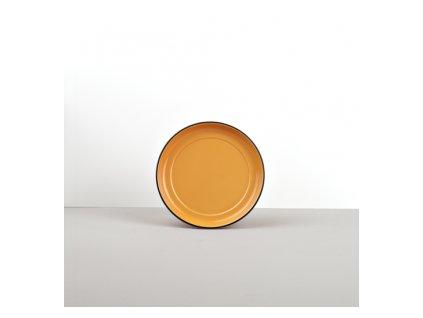 Podšálek COLOURBLOCK oranžový