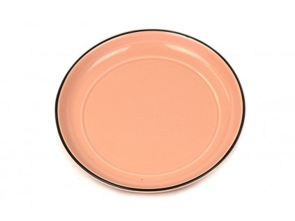 Podšálek COLOURBLOCK růžový MIJ