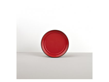 Podšálek COLOURBLOCK červený MIJ