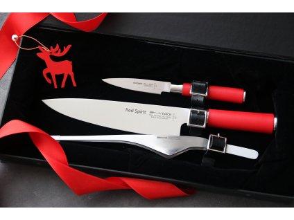 Sada nožů Red Spirit F.Dick 3 ks