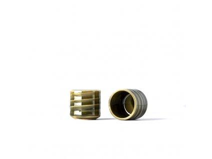 Miska na saké Sake Cup vysoká 80 ml zelená
