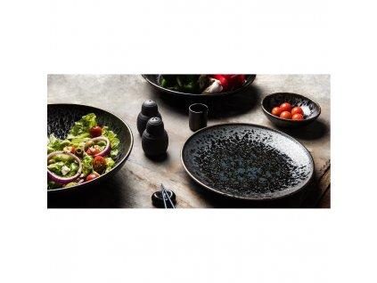 Mělký talíř Black Pearl 25 cm