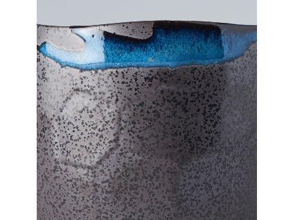 Hrnek bez ucha s nepravidelným okrajem Tea Cup černý 280 ml MIJ
