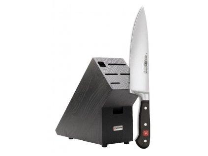 Kuchařšký nůž 2v1 + blok zdarma WÜSTHOF