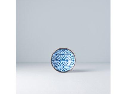 Malá miska Triangle Indigo Ikat  11 cm 150 ml