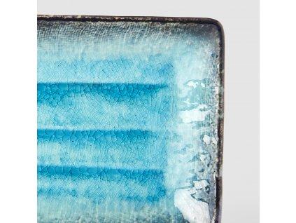 Talíř na sushi Sky Blue 21,5 x 13 cm