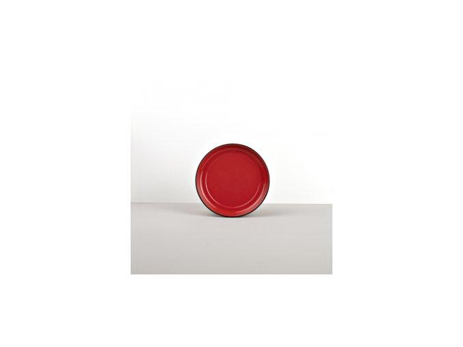 Podšálek COLOURBLOCK červený