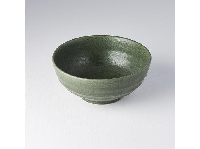 Střední miska EARTHY GREEN 19 x 8,5 cm