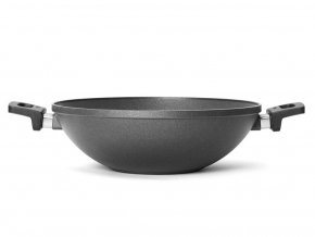 Pánev wok se dvěma uchy Nowo Titanium WOLL 32 cm