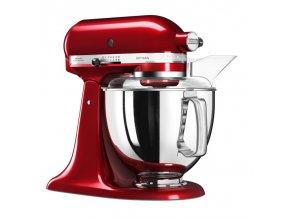 Kuchyňský robot KitchenAid Artisan 5KSM175 červená metalíza
