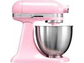 Kuchyňský robot KitchenAid Artisan MINI 5KSM3311 matná růžová f