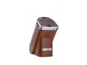 Sada nožů v bloku KitchenAid tmavý jasan 5 ks