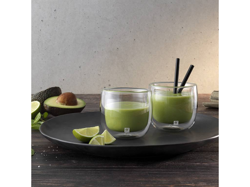 Zwilling Sorrento dvoustěnná sklenice na čaj, 240 ml, 2 ks