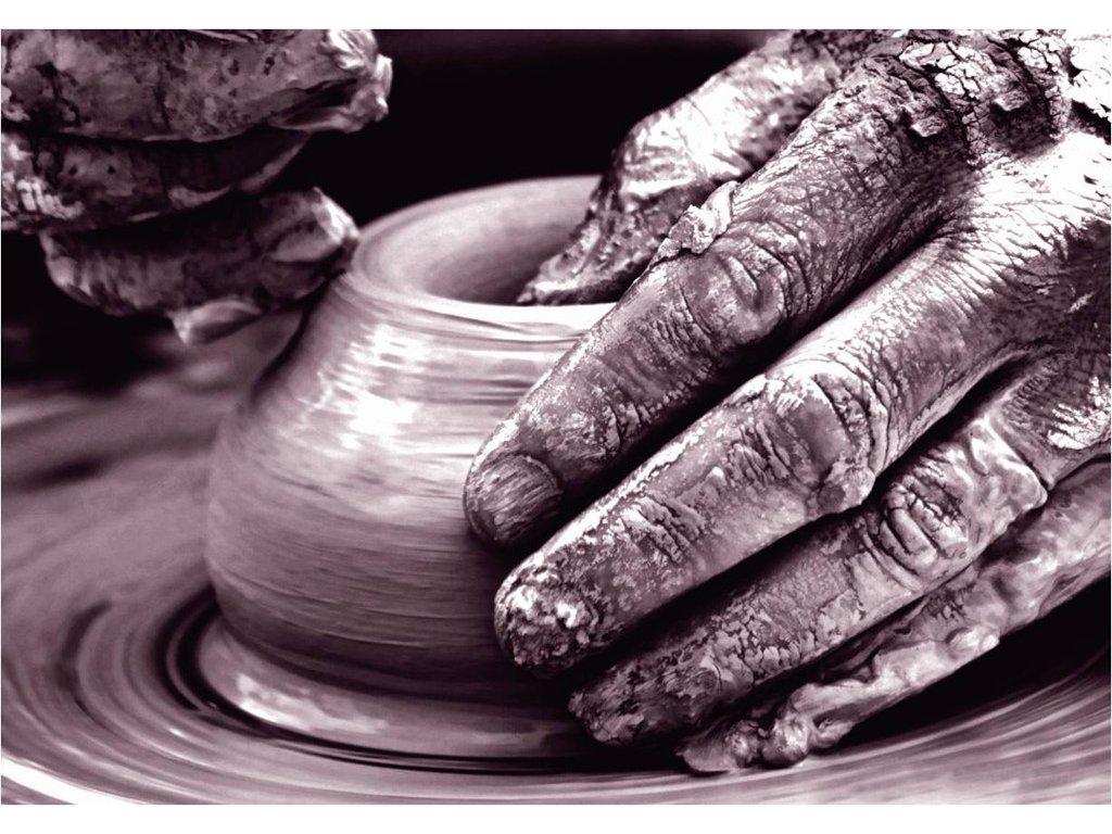 Emile Henry miska créme brulée, slonová kost, set 2 ks
