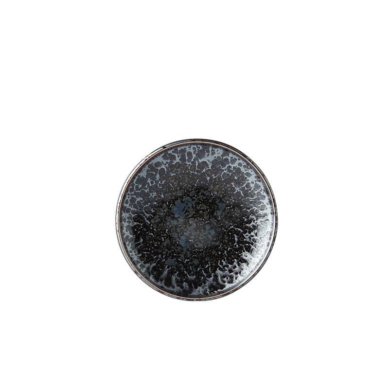 Mělký předkrmový talíř Black Pearl 17 cm
