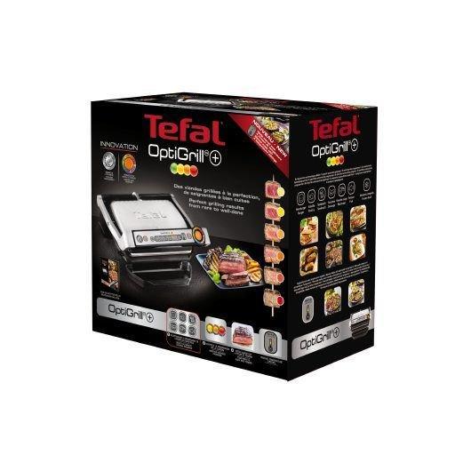 Tefal Optigrill+ Elektrický gril INOX EE GC712D34