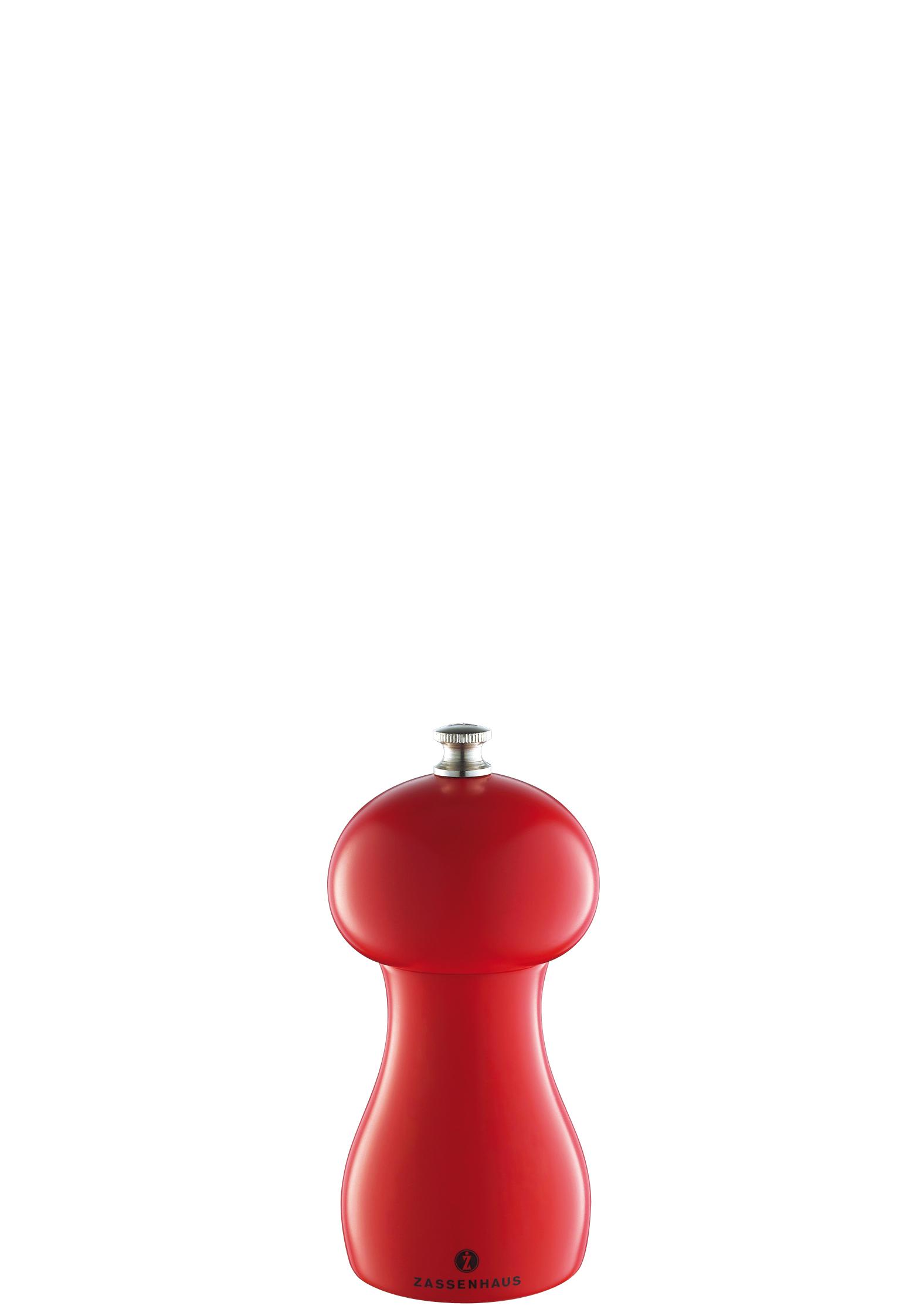 Mlýnek na pepř Bamberg Zassenhaus červený 12 cm