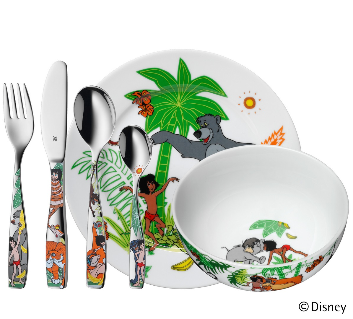 WMF Dětský jídelní set Kniha džunglí 6 ks