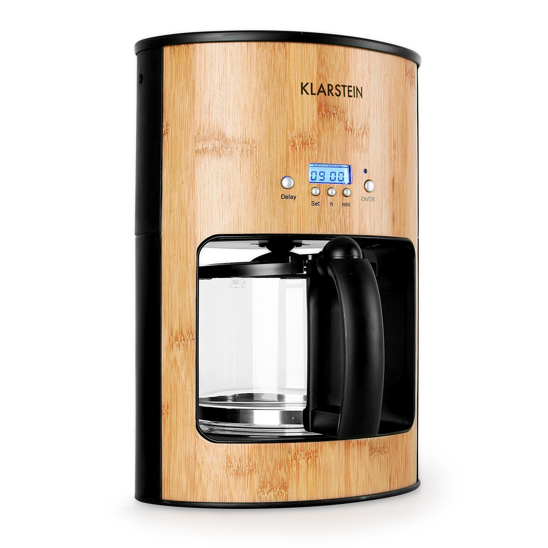 Kávovar na filtrovanou kávu Klarstein Bamboo Garden