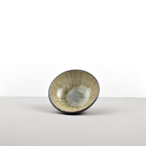 MIJ Dk Green miska 13 cm zelená