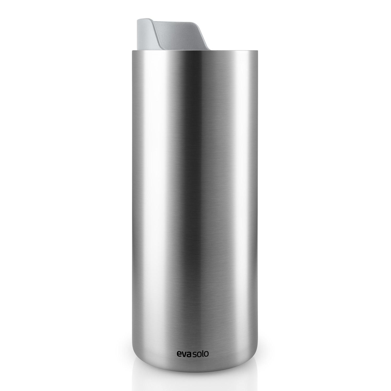 Nerezový termohrnek Urban To Go s mramorově šedým uzávěrem 0,35 l