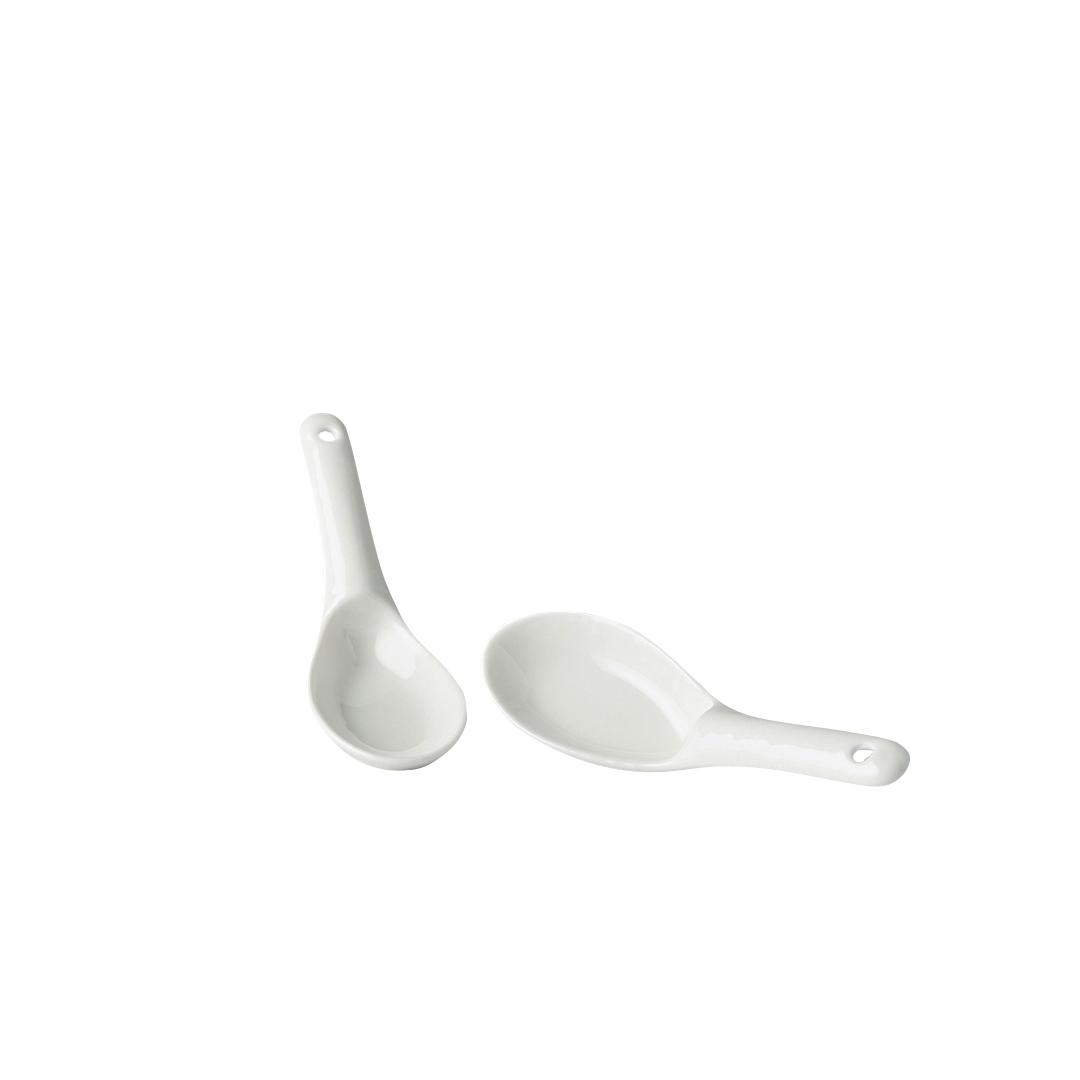 MIJ Lžíce 15 cm bílá