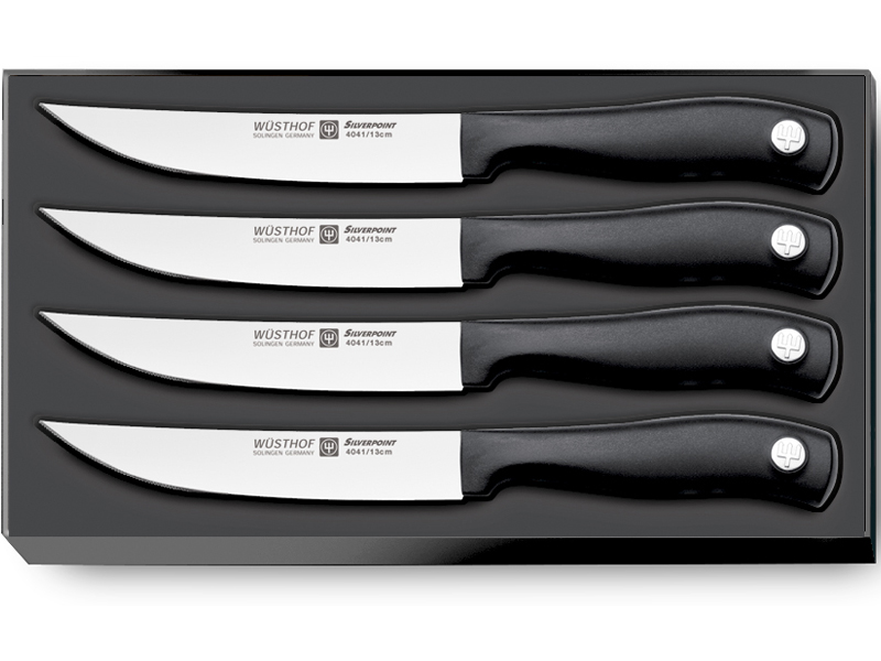 Sada nožů na steaky 4dílná WÜSTHOF Silverpoint