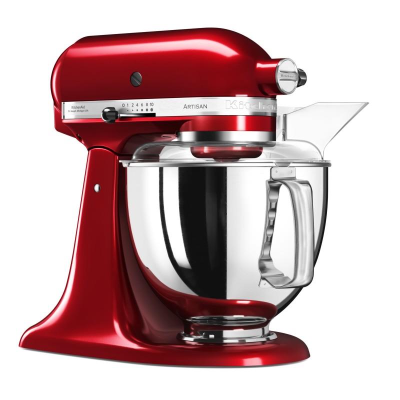 KitchenAid robot Artisan červená metalíza