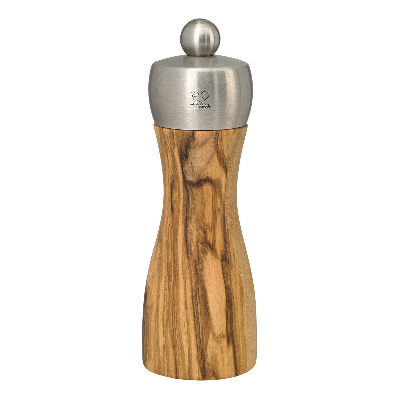 Mlýnek na pepř FIDJI olivové dřevo/nerez 15 cm