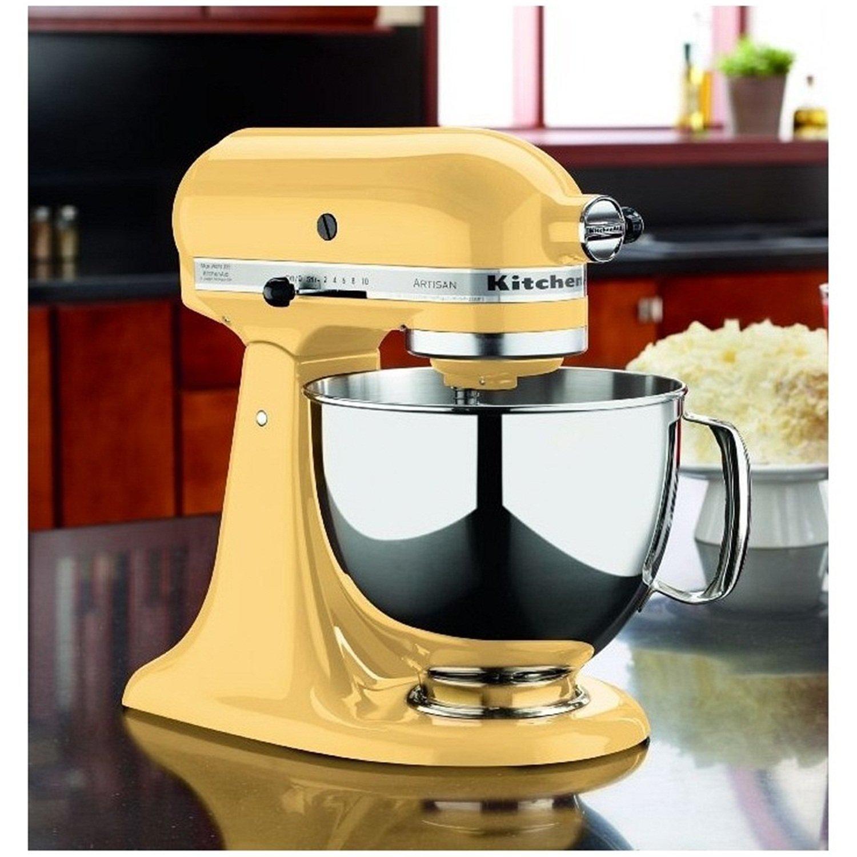 Kuchyňský robot KitchenAid Artisan 5KSM175 žlutá
