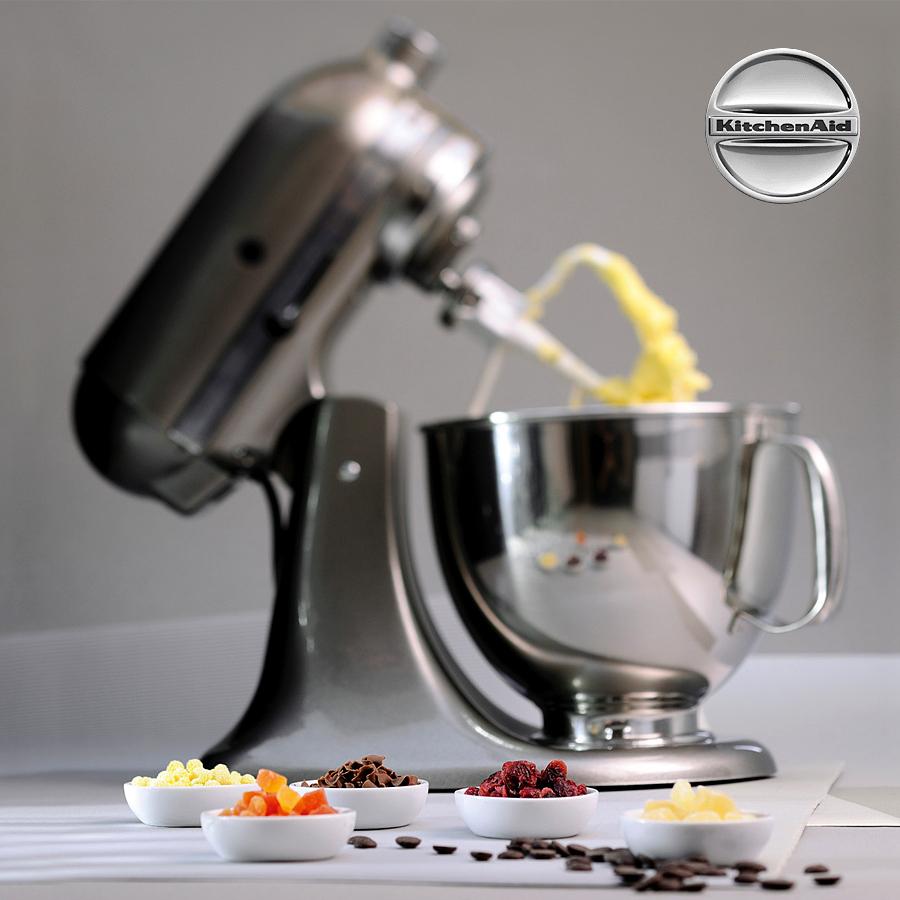 Kuchynsky robot KitchenAid Artisan 5KSM175 broušený nikl