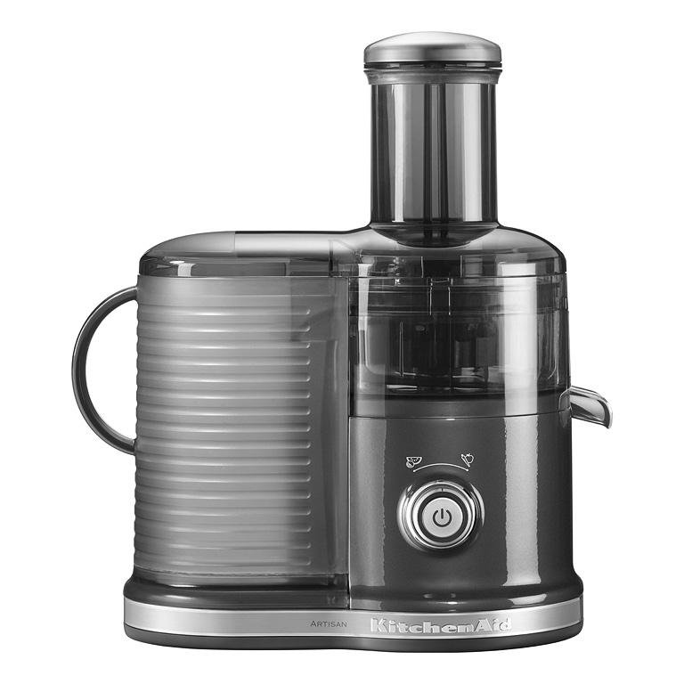 Odstředivý odšťavňovač KitchenAid 5KVJ0333 stříbřitě šedá