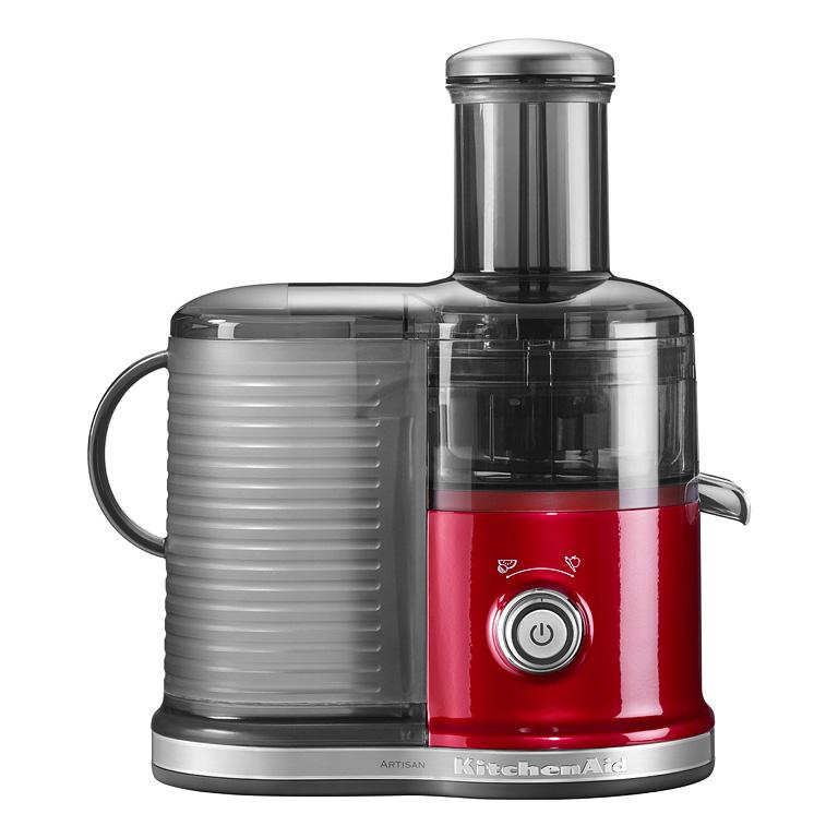 Odstředivý odšťavňovač KitchenAid 5KVJ0333 červená metalíza