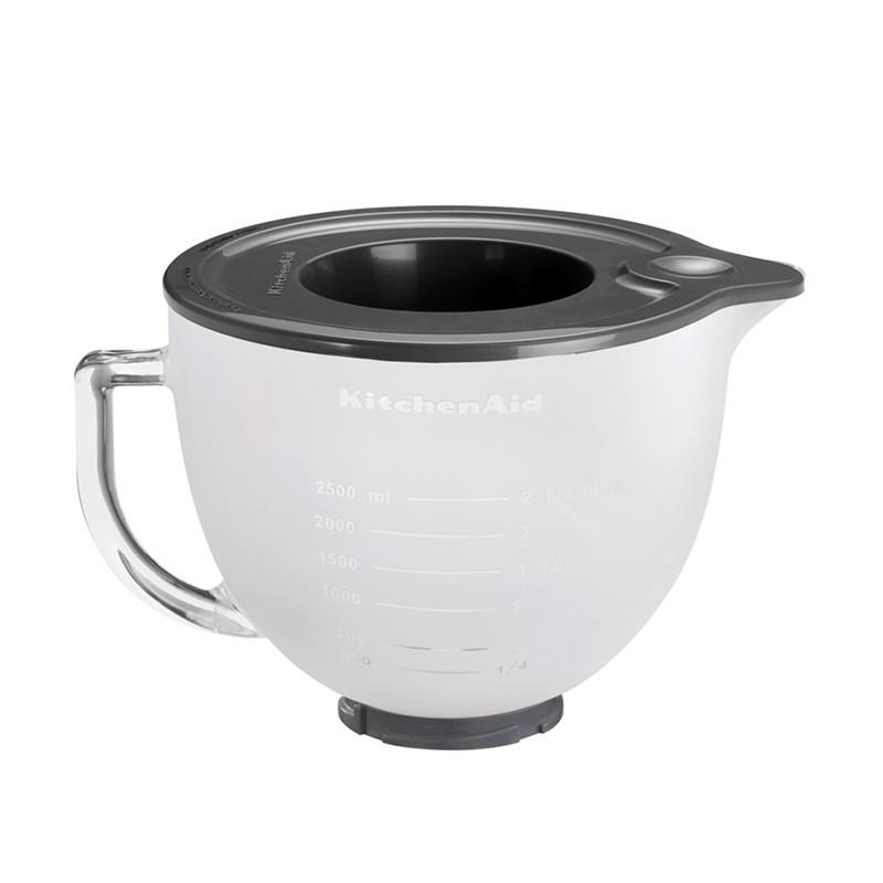 KitchenAid Skleněná mísa 4,83 l 5K5GBF matná
