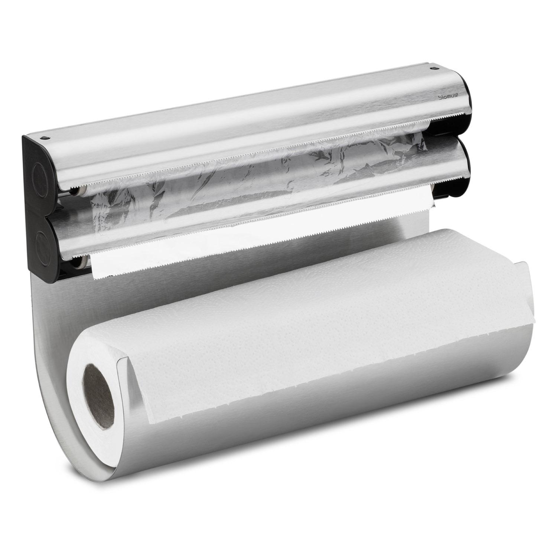 Nástěnný držák na kuchyňské utěrky a fólie OBAR