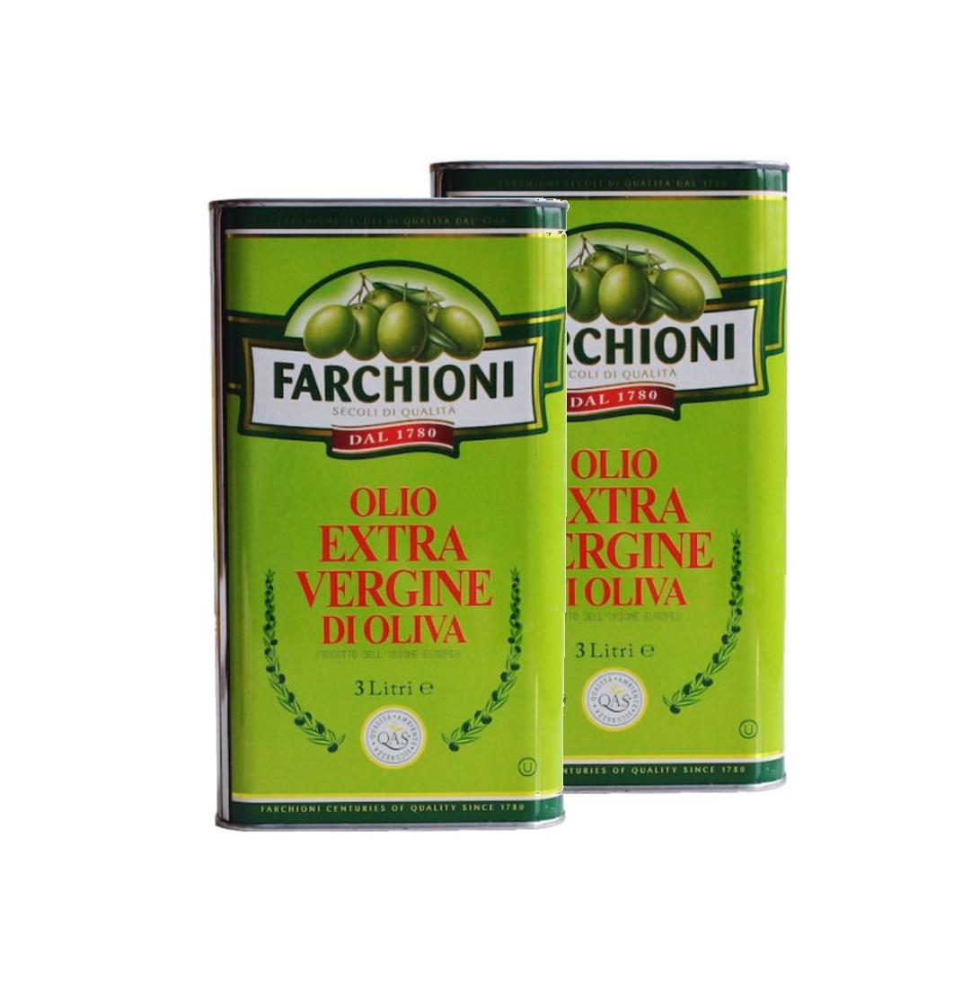 Extra panenský olivový olej Farchioni 2x3 l