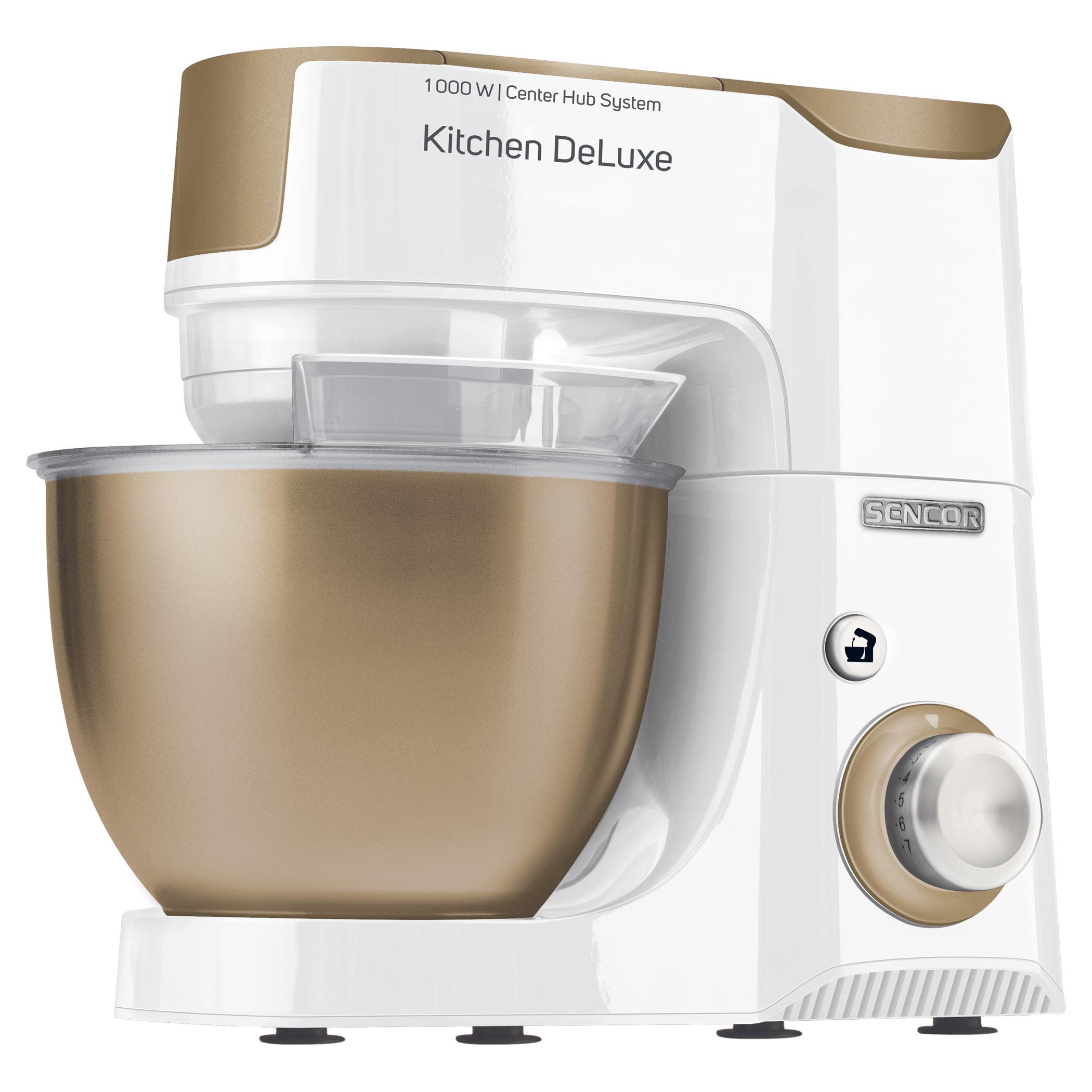 Kuchyňský robot SENCOR STM 4467CH champagne-bílá