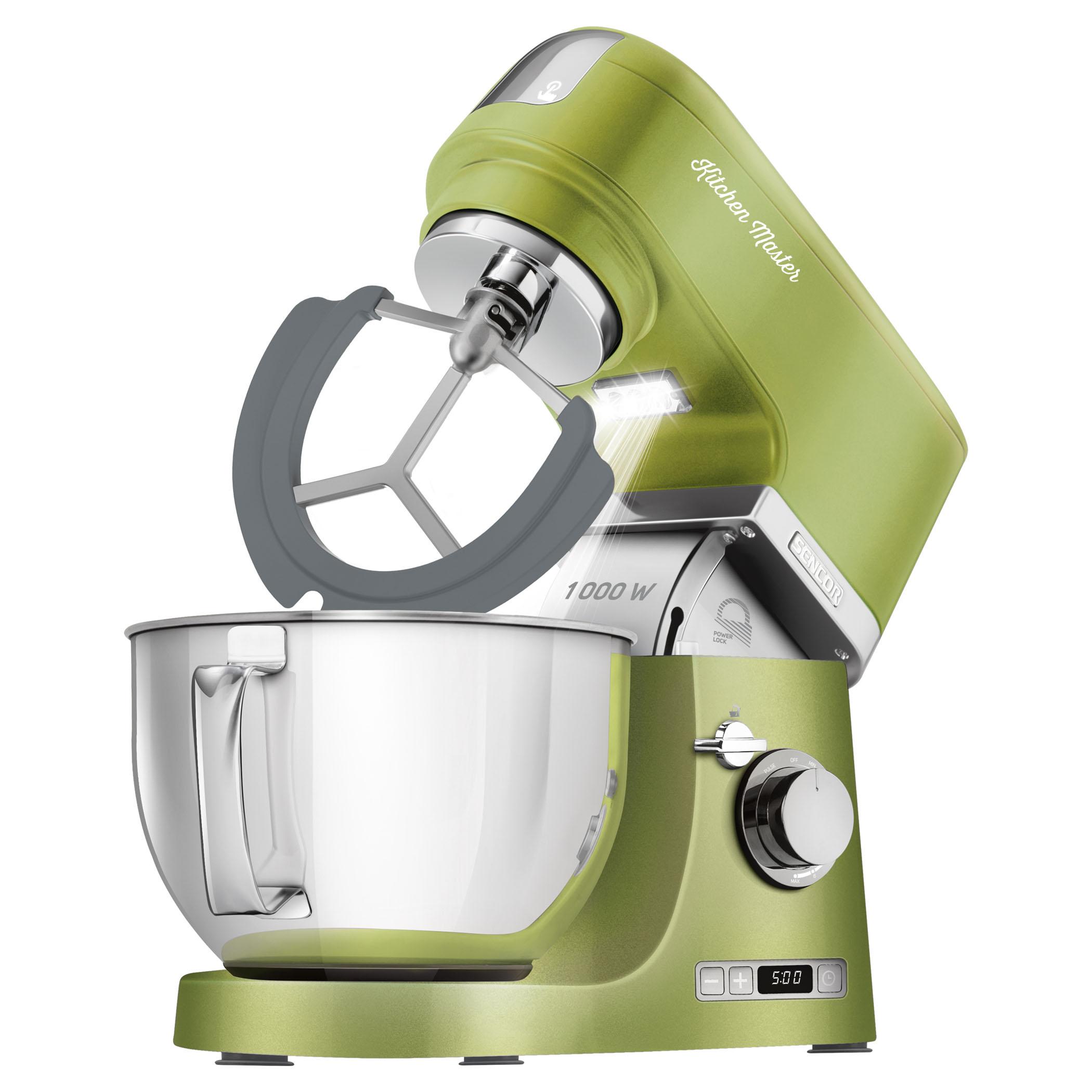 Kuchyňský robot SENCOR STM 7870GG zelená